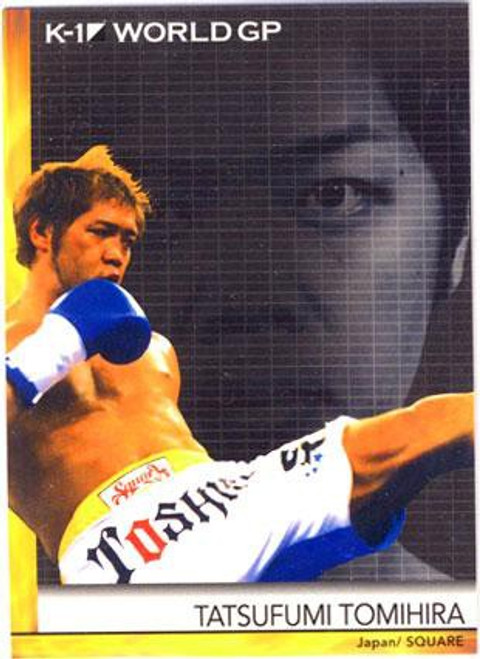 MMA K-1 World GP Tatsufumi Tomihira #21