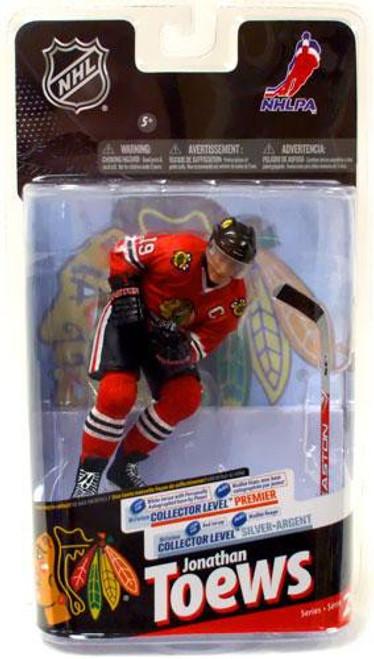 McFarlane Toys NHL Chicago Blackhawks Sports Picks Series 24 Jonathan Toews Action Figure [Red Jersey]
