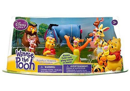 Disney Winnie the Pooh Exclusive 7-Piece PVC Figure Playset