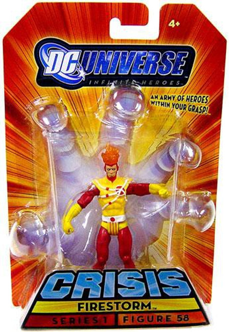 DC Universe Crisis Infinite Heroes Series 1 Firestorm Action Figure #56