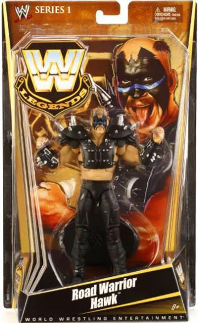 WWE Wrestling Legends Series 1 Road Warrior Hawk Action Figure