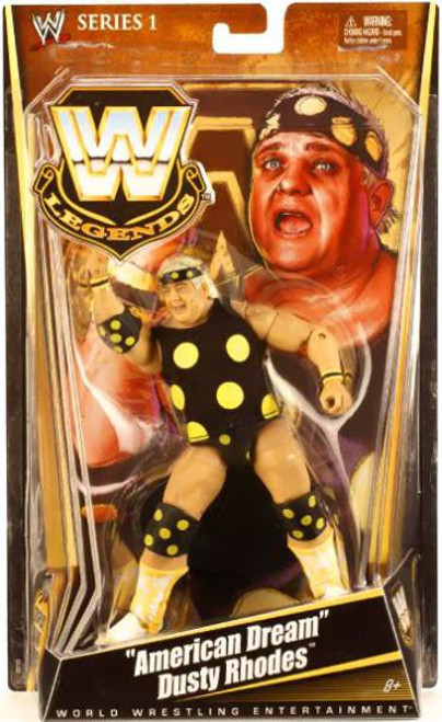 "WWE Wrestling Legends Series 1 ""American Dream"" Dusty Rhodes Action Figure"