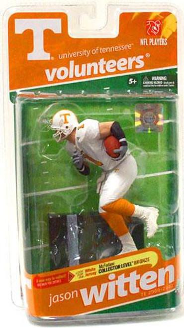 McFarlane Toys NCAA College Football Sports Picks Series 2 Jason Witten Action Figure [White Jersey]