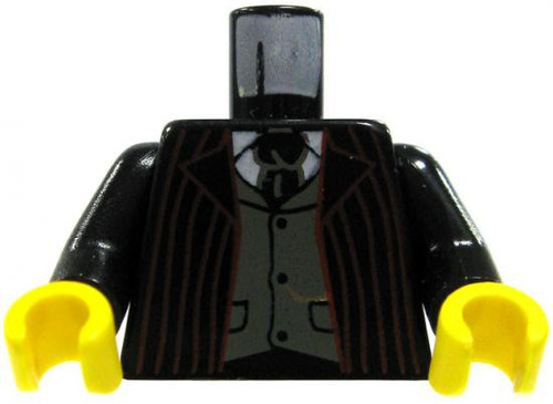 LEGO Red Striped Suit Loose Torso [Loose]