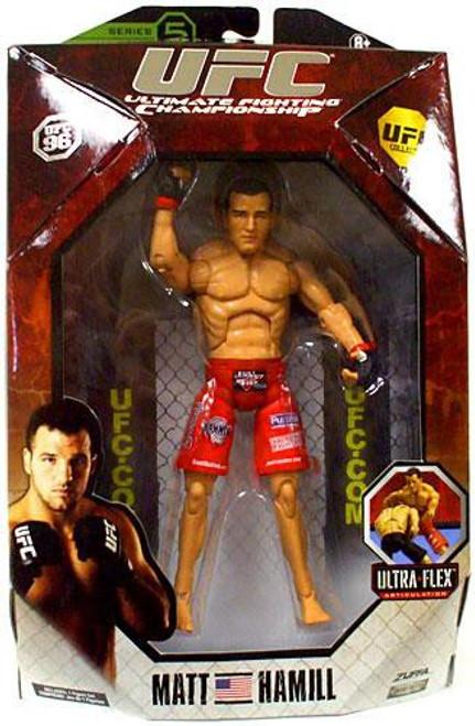 UFC Collection Series 5 Matt Hamill Action Figure [UFC 96]