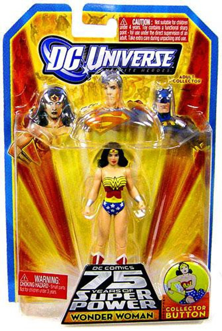 DC Universe 75 Years of Super Power Infinite Heroes Wonder Woman Action Figure