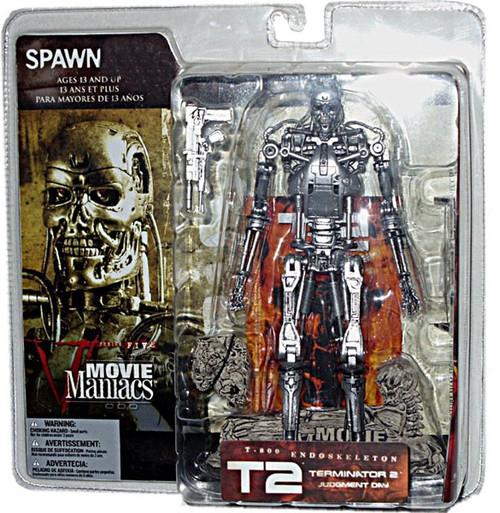 McFarlane Toys Terminator 2 Judgment Day Movie Maniacs Series 5 T-800 Endoskeleton Action Figure