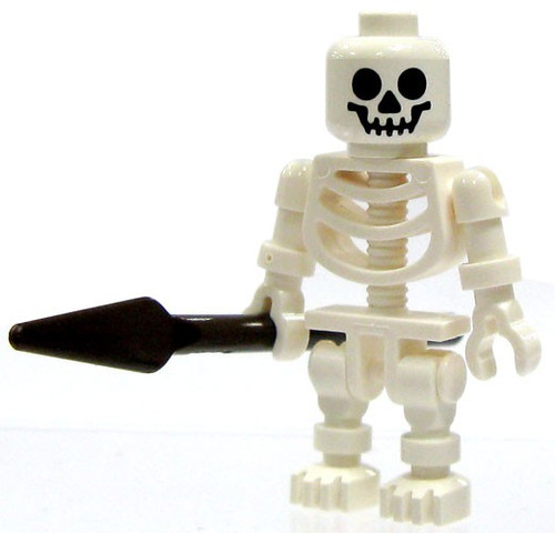 LEGO Prince of Persia Skeleton with Spear Minifigure [Loose]
