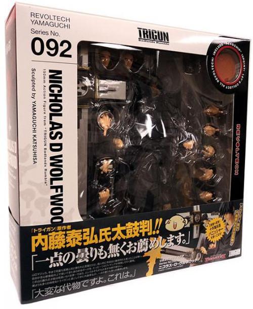 Trigun Yamaguchi Revoltech Nicholas D. Wolfwood Action Figure #092