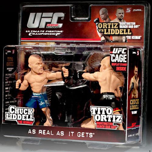 UFC Ultimate Collector Versus Series 1 Chuck Liddell vs.. Tito Ortiz Action Figure 2-Pack
