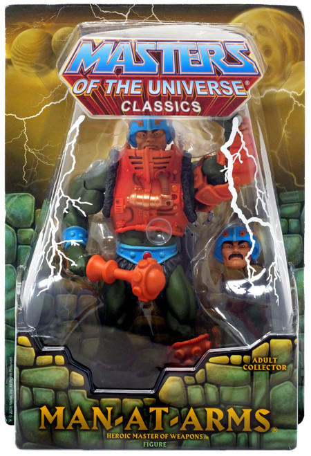 Masters of the Universe Classics Club Eternia Man-At-Arms Exclusive Action Figure [Second Printing]