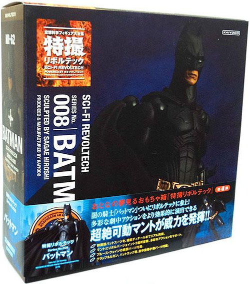 The Dark Knight Sci-Fi Revoltech Batman Action Figure #008