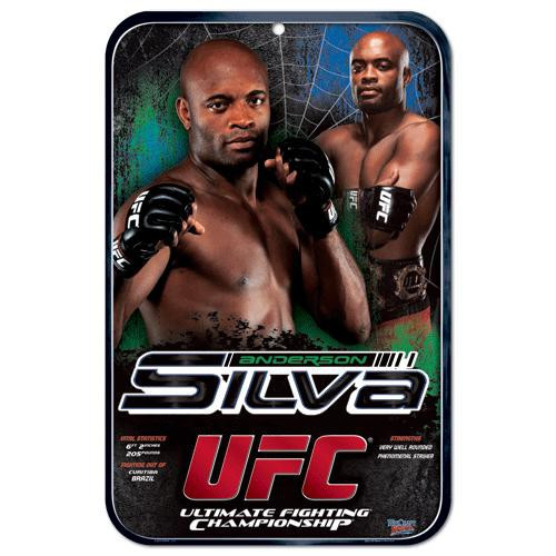 UFC Anderson Silva Sign