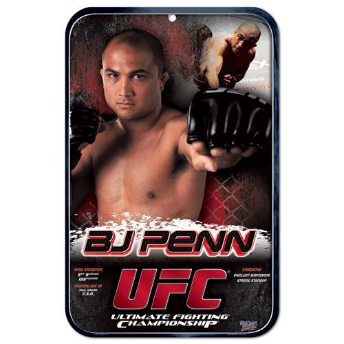 UFC B.J. Penn Sign
