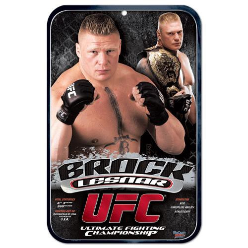 UFC Brock Lesnar Sign