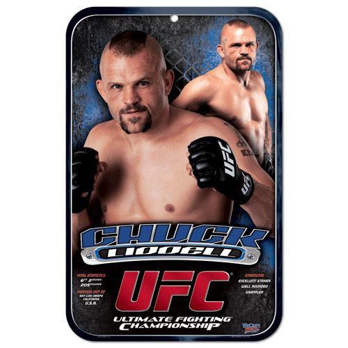 UFC Chuck Liddell Sign