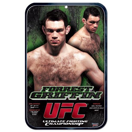 UFC Forrest Griffin Sign
