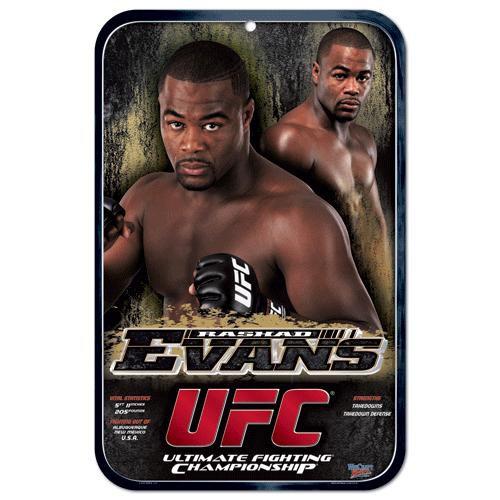 UFC Rashad Evans Sign