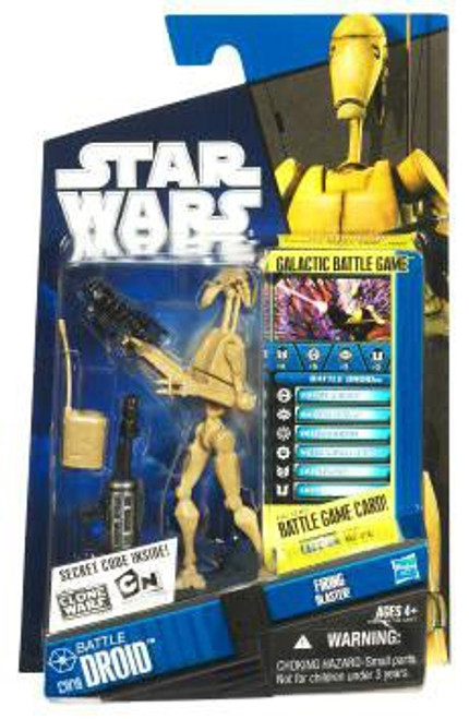 Star Wars The Clone Wars 2010 Battle Droid Action Figure CW19