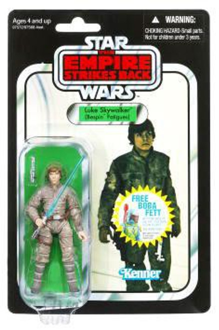 Star Wars The Empire Strikes Back Vintage Collection 2010 Luke Skywalker Action Figure #04 [Bespin Fatigues]
