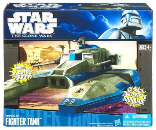Star Wars The Clone Wars 2010 Republic Fighter Tank 3.75-Inch Vehicle