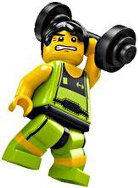 LEGO Minifigures Series 2 Weightlifter Minifigure [Loose]