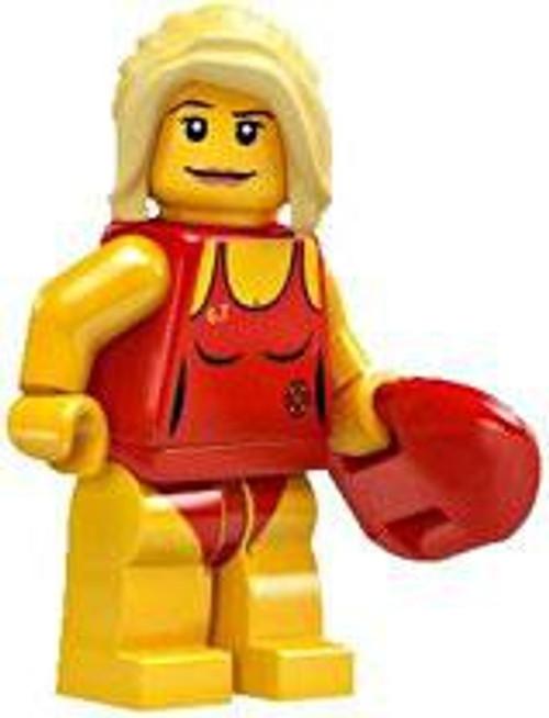 LEGO Minifigures Series 2 Lifeguard Minifigure [Loose]
