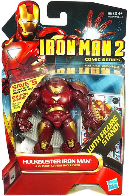 Iron Man 2 Comic Series Hulkbuster Iron Man Action Figure #27