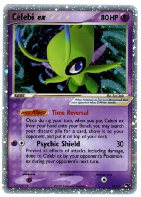 Pokemon Trading Card Game Organized Play Series 2 Ultra Rare Celebi ex #17
