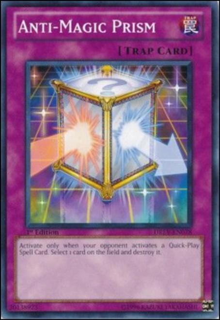 YuGiOh YuGiOh 5D's Duelist Revolution Common Anti-Magic Prism DREV-EN078