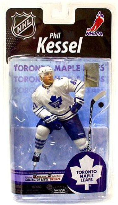 McFarlane Toys NHL Toronto Maple Leafs Sports Picks Series 25 Phil Kessel Action Figure [White Jersey]