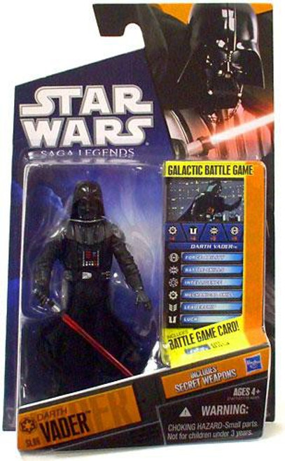 Star Wars The Empire Strikes Back Saga Legends 2010 Darth Vader Action Figure SL06