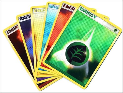 Pokemon Trading Card Game Organized Play Foil Energy Card Set