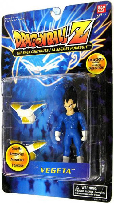 Dragon Ball Z Original Collection Vegeta Action Figure [Saiyan Battle Armor]