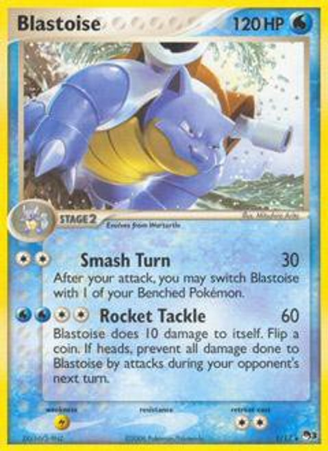 Pokemon Trading Card Game Organized Play Series 3 Rare Blastoise #1