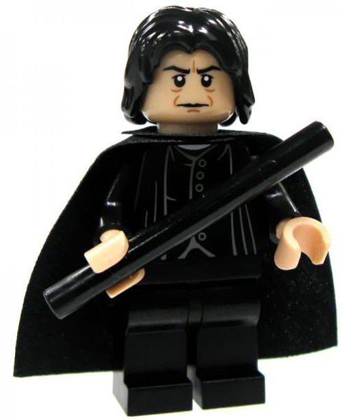 LEGO Harry Potter Professor Severus Snape Minifigure #1 [Black Shirt Loose]