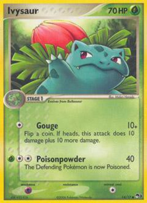 Pokemon Trading Card Game Organized Play Series 3 Common Ivysaur #14