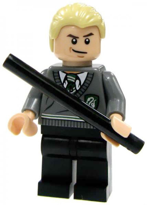 LEGO Harry Potter Draco Malfoy Minifigure #1 [Slytherin Uniform Loose]