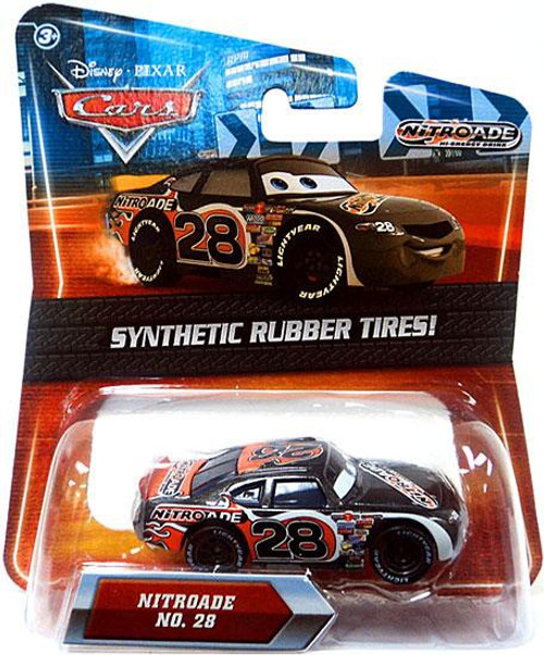 Disney / Pixar Cars Synthetic Rubber Tires Nitroade Exclusive Diecast Car