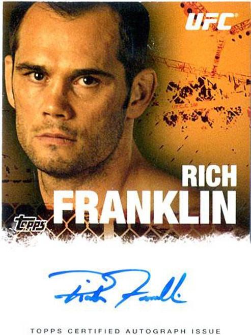 Topps UFC 2010 Championship Rich Franklin Autograph Card FA-RF