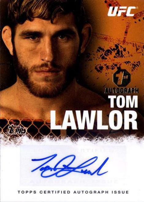 Topps UFC 2010 Championship Tom Lawlor Autograph Card FA-TL