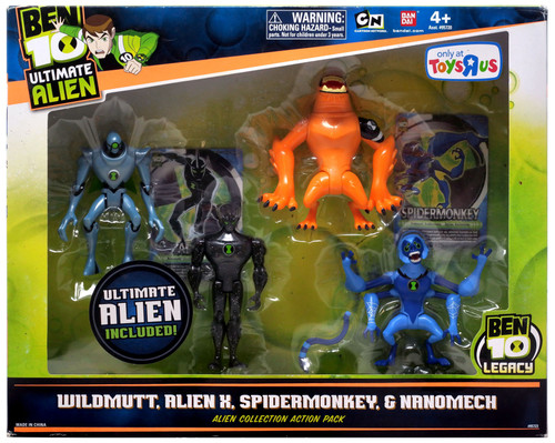 Ben 10 Ultimate Alien Alien Collection Action Pack #2 Exclusive Action Figure Set