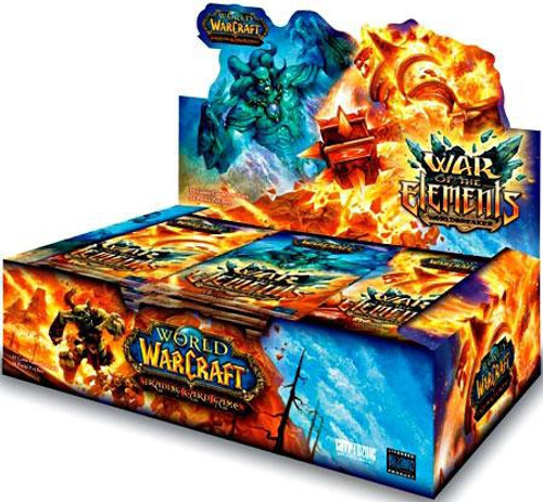 World of Warcraft Trading Card Game War of the Elements Booster Box [24 Packs]