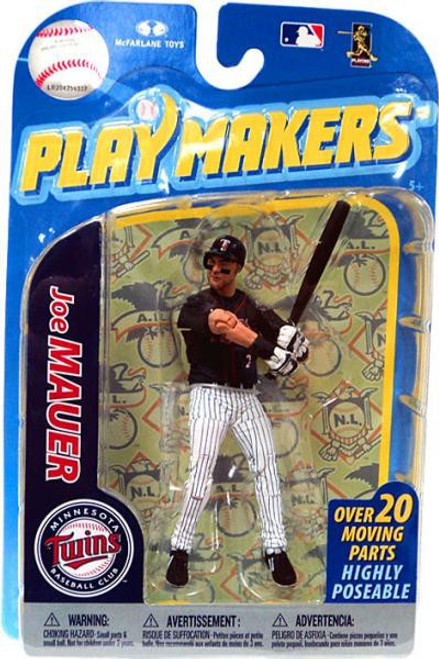 McFarlane Toys MLB Minnesota Twins Playmakers Series 2 Joe Mauer Action Figure
