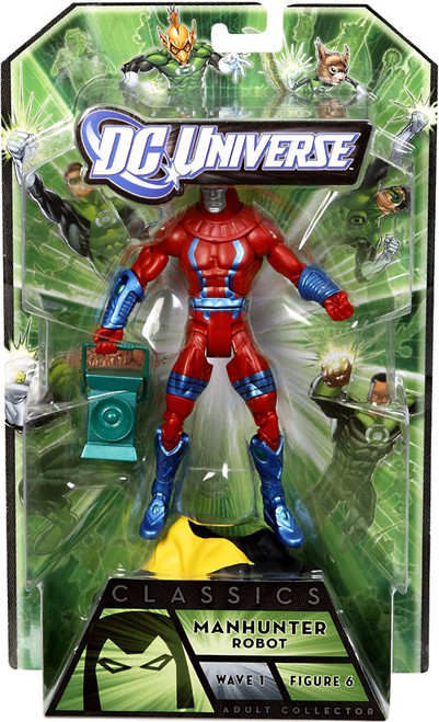 DC Universe Green Lantern Classics Series 1 Manhunter Action Figure [Robot]