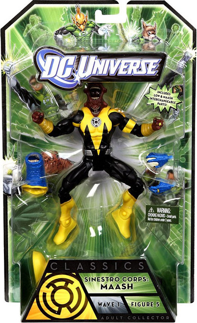DC Universe Green Lantern Classics Series 1 Maash Action Figure [Sinestro Corps]