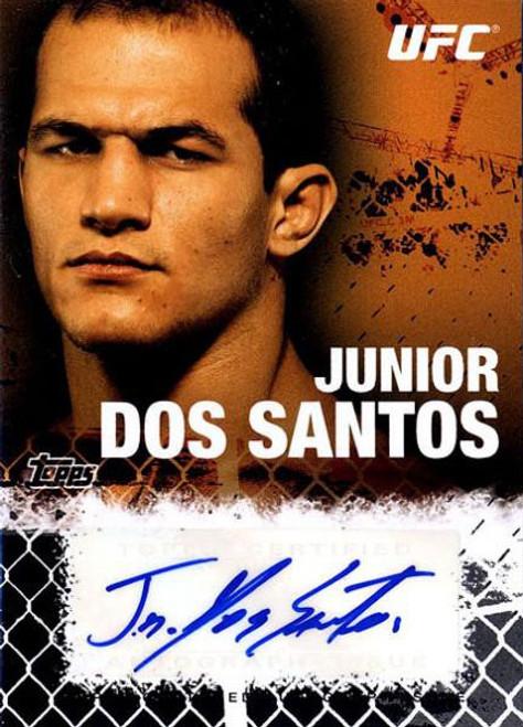 Topps UFC 2010 Championship Junior Dos Santos Autograph Fighters & Personalities Autograph Card FA-JDS