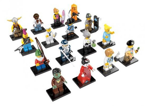 LEGO Minifigures Series 4 Set of 16 Minifigures [Loose]