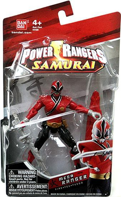 Power Rangers Samurai Mega Ranger Fire Action Figure