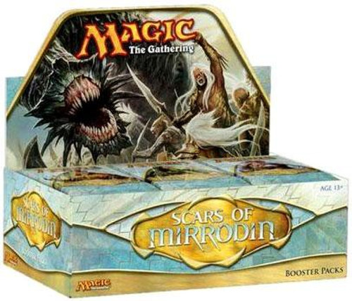MtG Trading Card Game Scars of Mirrodin Booster Box [36 Packs]